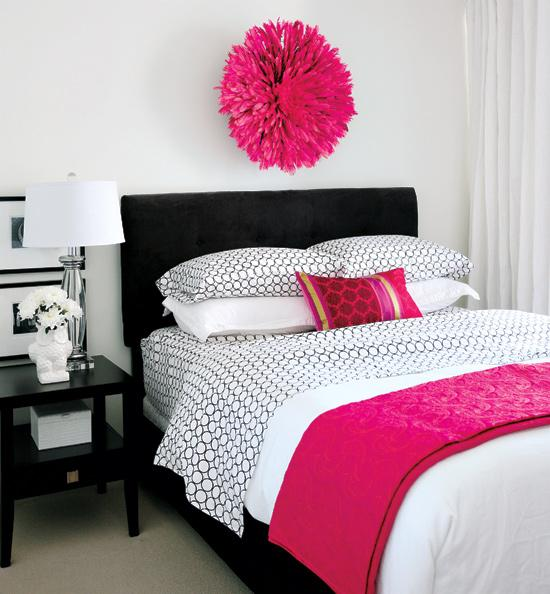 Decorating Ideas Color Inspiration: Habitaciones Para Chicas En Rosa Y Blanco