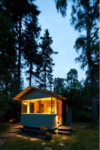 Cabaña de diseño 1