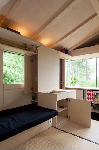 Preciosa y moderna caba a de fin de semana - Fin de semana en cabanas de madera ...