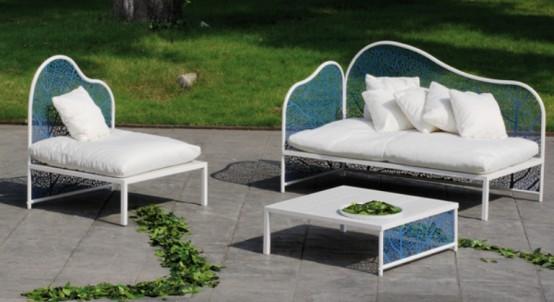Colección de muebles para exterior de corradi