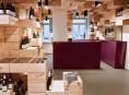 imagen El estilo interior de una vinoteca en Suiza