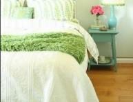 imagen Habitaciones románticas con detalles en color verde