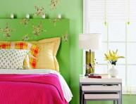 imagen Propuestas de cabeceros en color verde