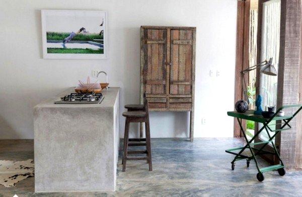 Suelos de cemento y microcemento pulido - Decoracion de suelos interiores ...