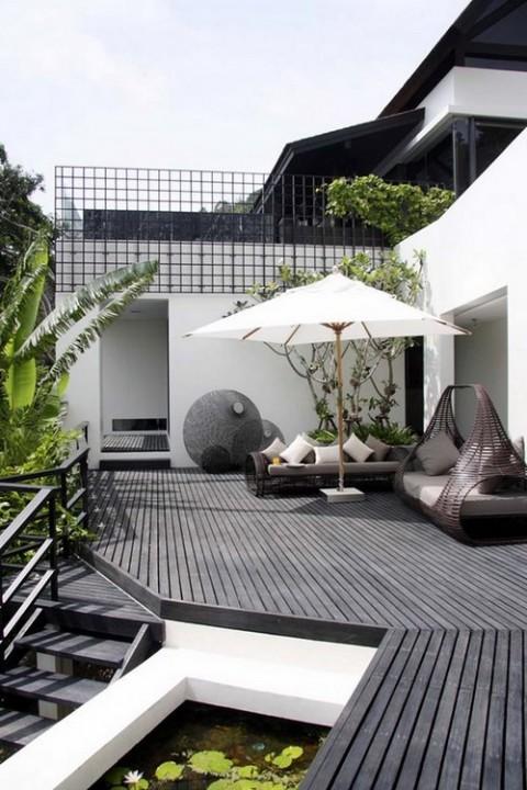 Terrazas y galer as urbanas de estilo tropical - Terrazas urbanas ...