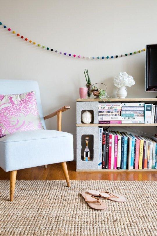 10 ideas para crear muebles con bloques de hormig n for Muebles de cocina de ladrillos imagenes