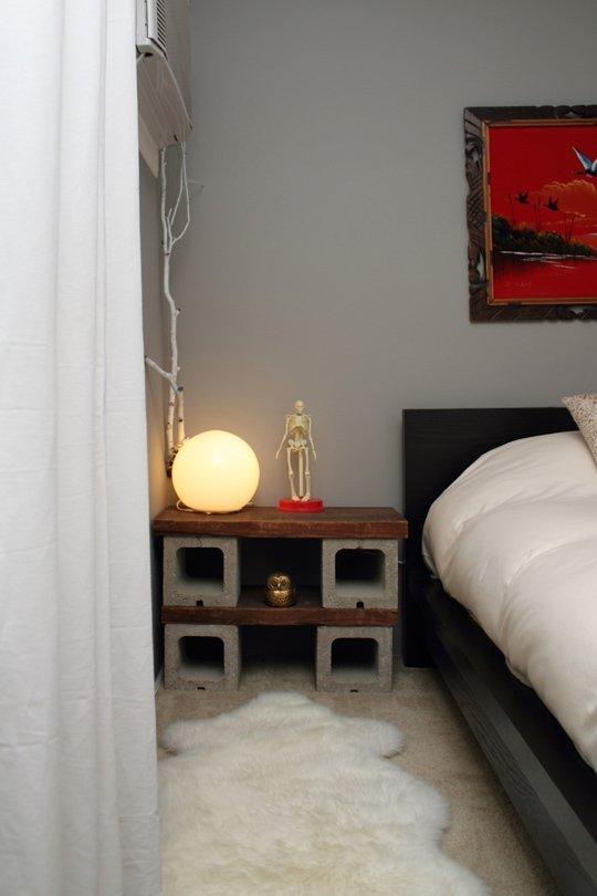 10 ideas para crear muebles con bloques de hormig n for Muebles de oficina para armar