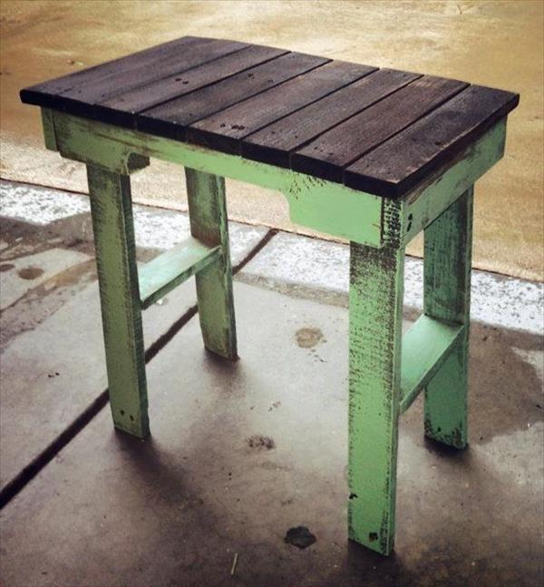 Mesas con palets DIY 1