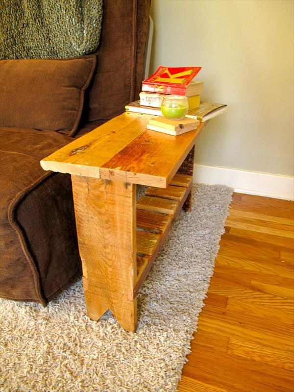 Mesas con palets DIY 5