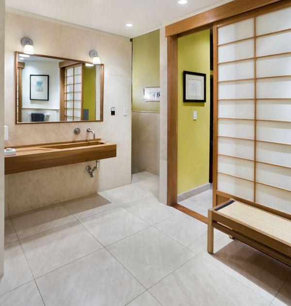 Baño Estilo Oriental:Japanese Bathroom Design