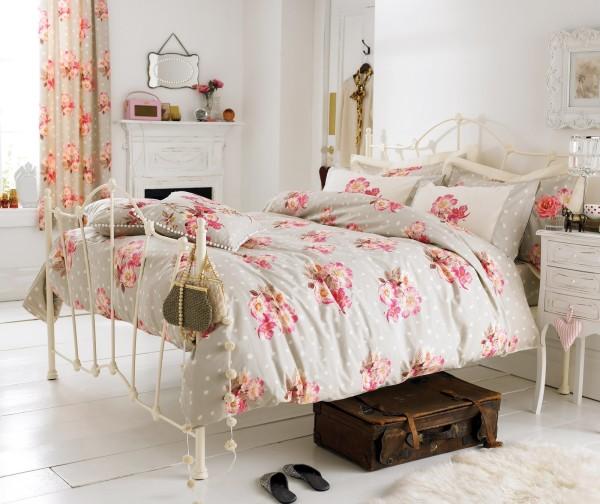 6 camas de estilo retro - Camas estilo romantico ...