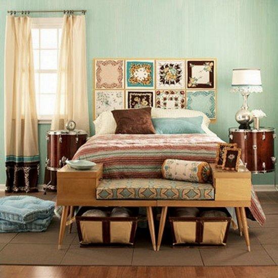 6 camas de estilo retro