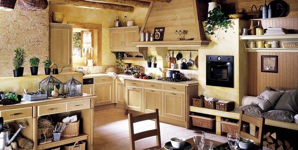cocinas de estilo provenzal francs 1