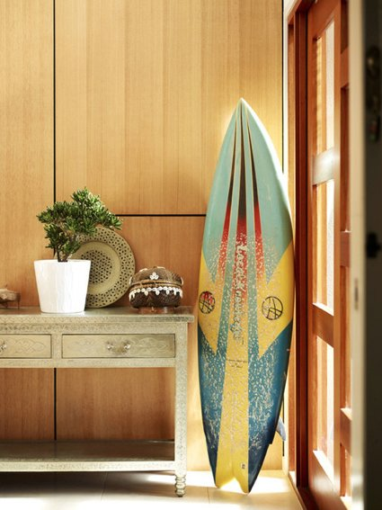 Decoraci n veraniega con tablas de surf for Decoracion de surf