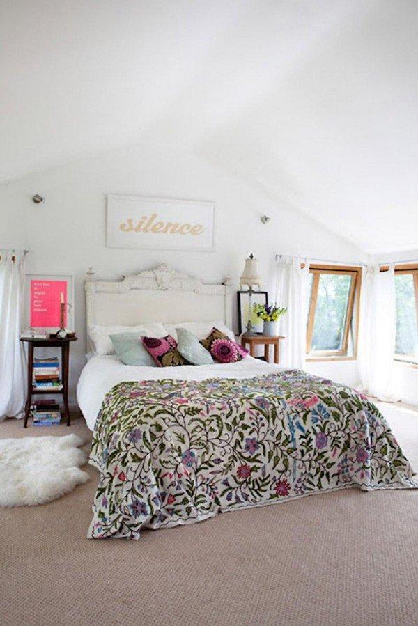 7 dormitorios con estilo boho chic - Dormitorios vintage chic ...