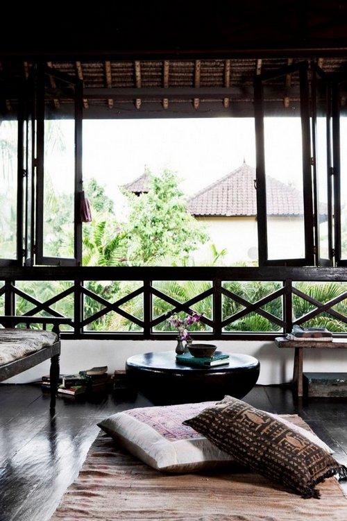 Recrea el estilo interior de una vivienda balinesa for Imagenes de futones