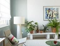 imagen Introducir el color verde en estilos decorativos actuales