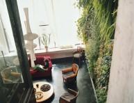 imagen Un curioso jardín apartamento
