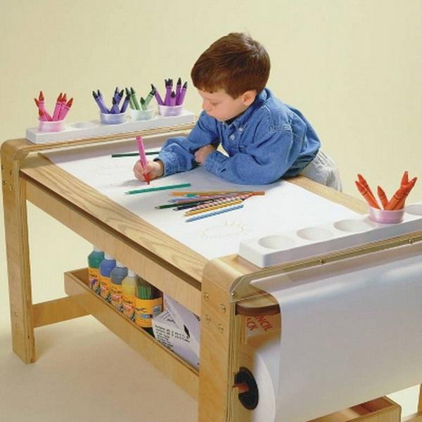 Ideas de escritorios para los peques for Mesas estudio ninos