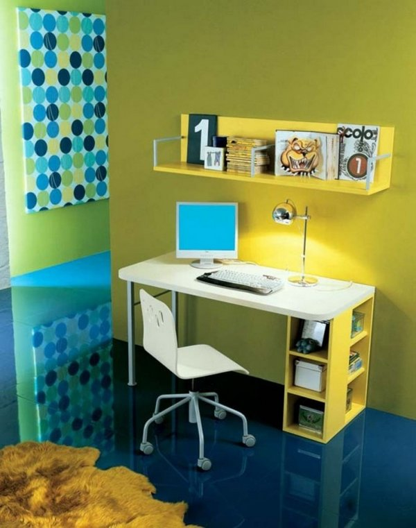 Ideas de escritorios para los peques for Room and board kids table