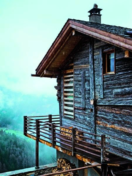 Chalet de estilo en los Alpes Suizos 1