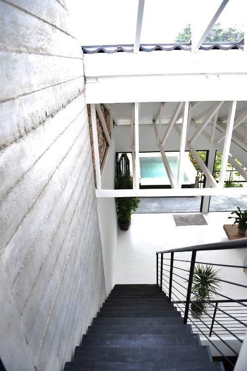 Naturaleza y minimalismo en una casa en kuala lumpur - Minimalismo en casa ...