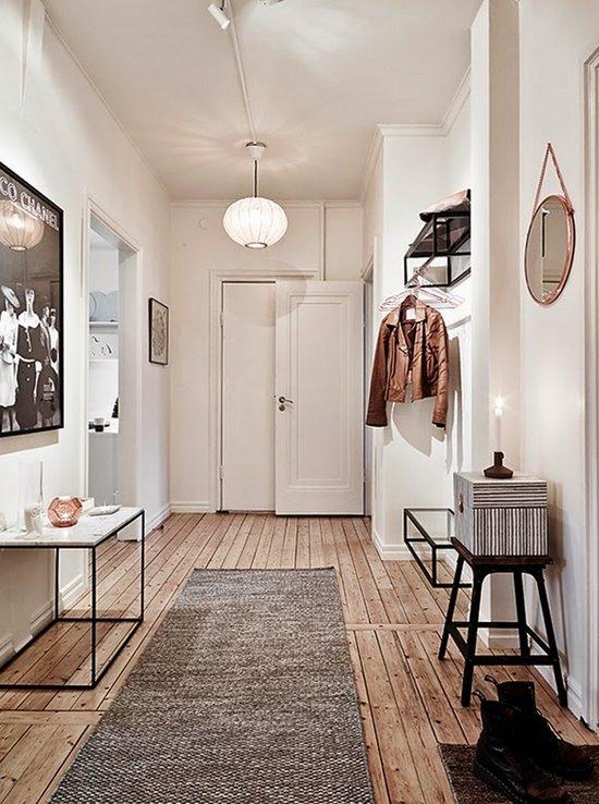 C mo aprovechar los pasillos de una vivienda for Decoracion pasillos