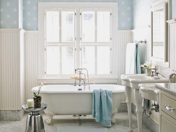 Baño de estilo cottage 1