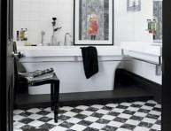 imagen Baños con inspiración Art Decó