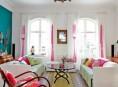 imagen Coloridos interiores de una casa en Dinamarca