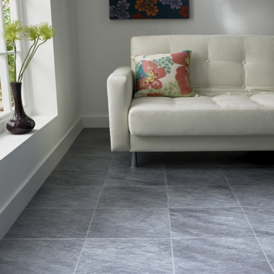 Modern Living Room Flooring Ideas: Coloridos Suelos Para La Vivienda