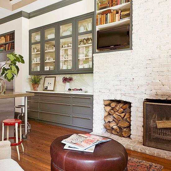 Decora tus paredes con ladrillos - Muebles con ladrillos ...