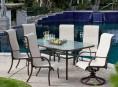 imagen Propuestas de mesas de cristal para exteriores
