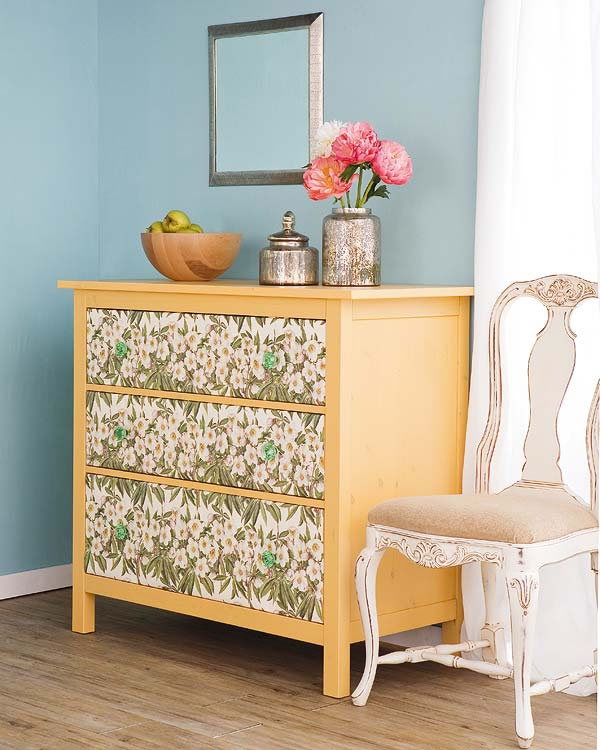 papel de empapelar para cambiar tus muebles