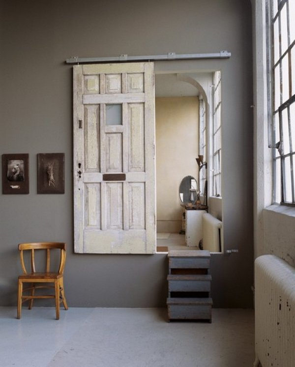 Puertas vintage para decorar interiores - Decoracion puertas correderas ...