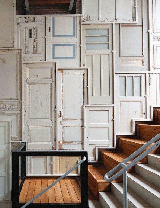 Puertas vintage para decorar interiores - Decoracion de interiores vintage ...