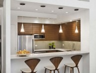imagen Barras de bar para cocinas pequeñas