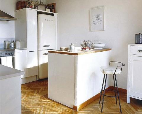 Barras de bar para cocinas pequenas 07 gu a para decorar - Barras para cocinas pequenas ...