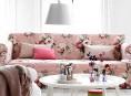 imagen Sofás con estampado floral para un salón con estilo
