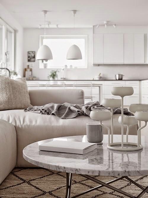 Apartamento en gris y blanco 1
