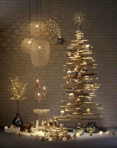 Rboles diy para decorar esta navidad - Arbol navidad moderno ...