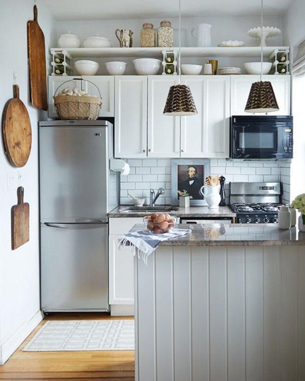 10 peque as cocinas con grandes ideas for Disenadores de cocinas pequenas
