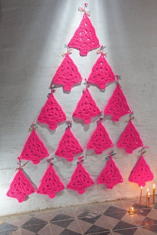 10 decoraciones navide as sin rbol de navidad - Decoracion para arbol de navidad ...