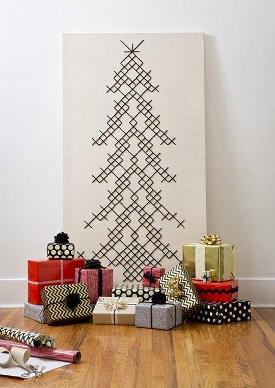 10 decoraciones navide as sin rbol de navidad - Decoracion arbol navidad 2014 ...