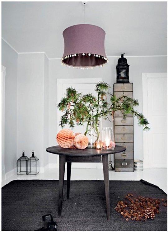 4 casas danesas decoradas para la navidad - Decoracion navidena para casas ...