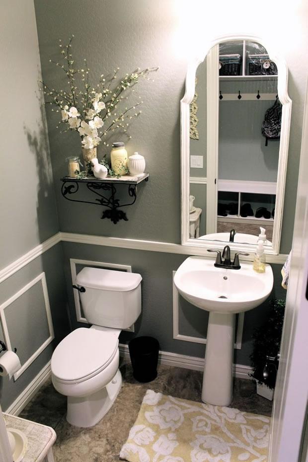 Un ba o peque o tambi n puede tener estilo for Articulos de decoracion para banos