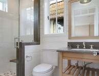 imagen Un baño pequeño también puede tener estilo