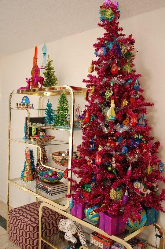 Decoraci n navide a de estilo vintage - Decoracion navidad vintage ...