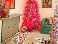 imagen Decoración navideña de estilo vintage