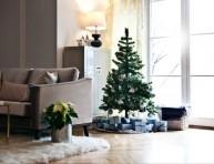 imagen 4 ideas blancas y 1 morada para decorar tu casa en Navidad